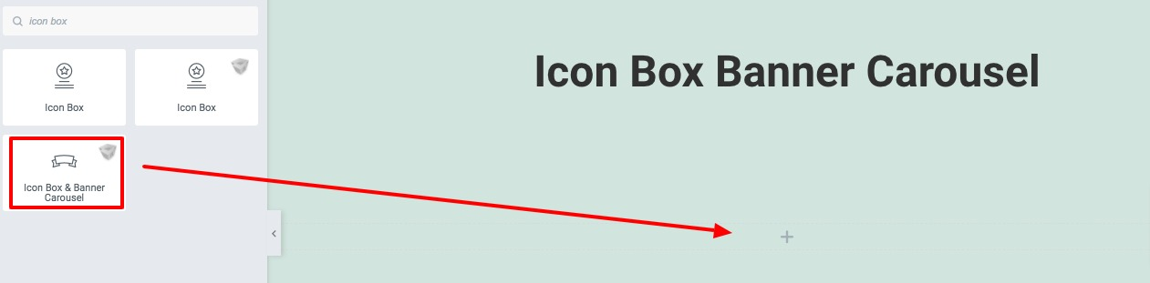 Icon Box Banner Carousel
